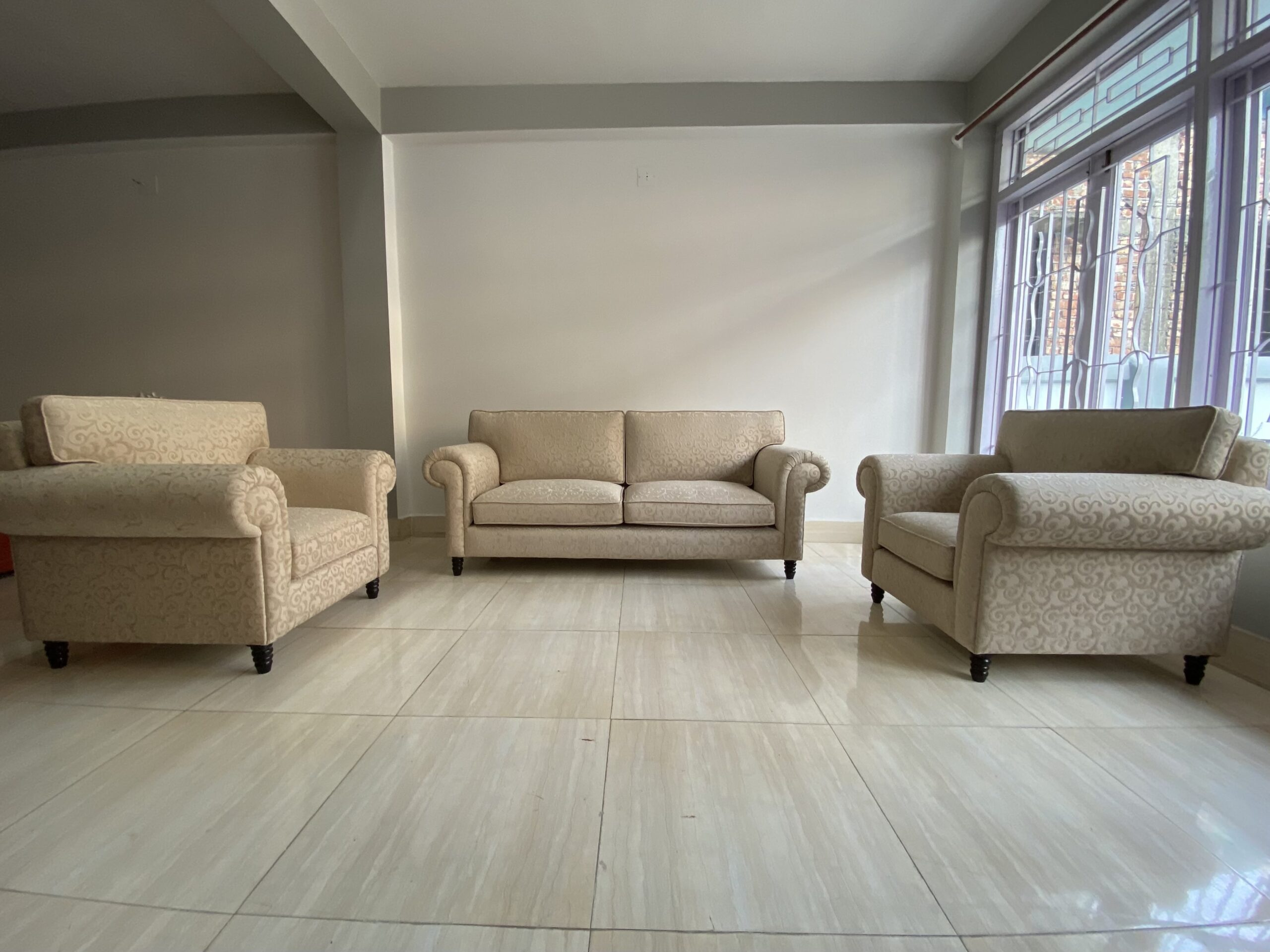 5 seater sofa sold by Imperial Furnishing Furniture Showroom in Thimphu