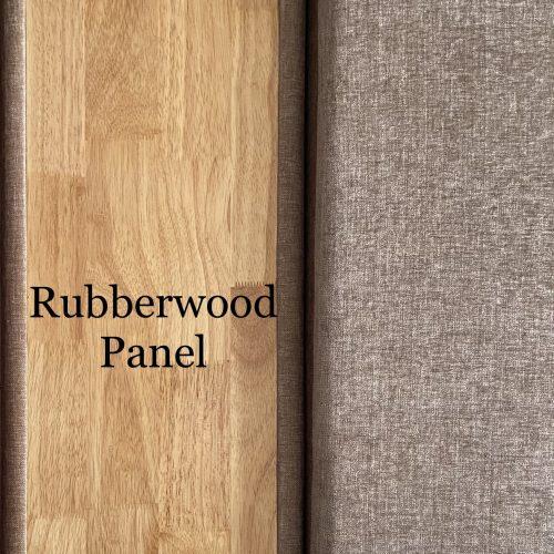 Corner Sofa with rubberwood panel